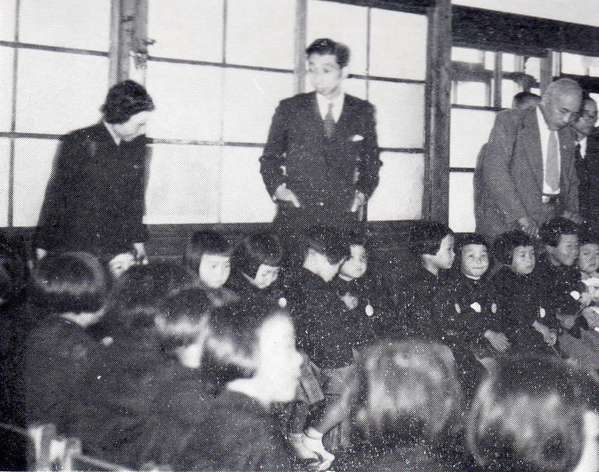1952年高松宮殿下来園